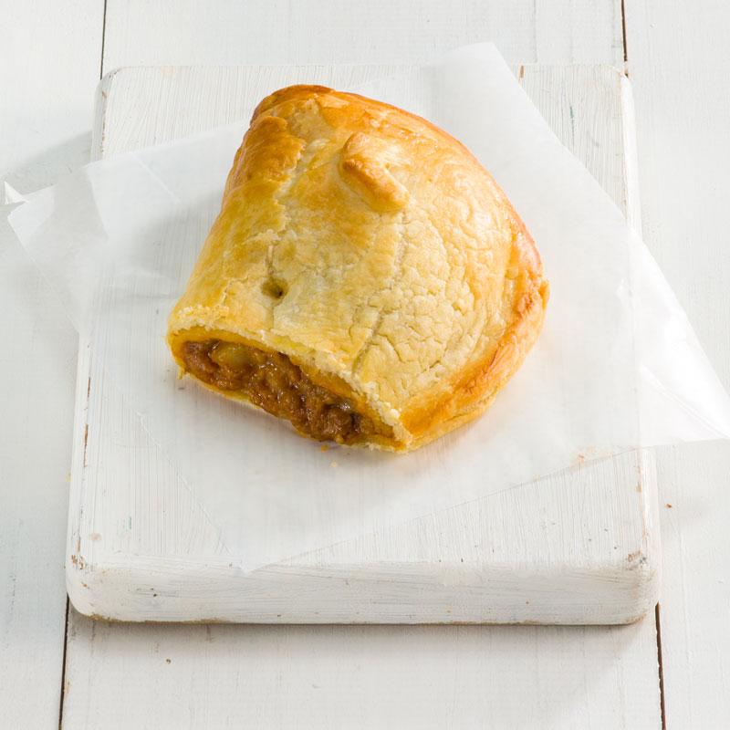 Mutton Curry Puff Pie